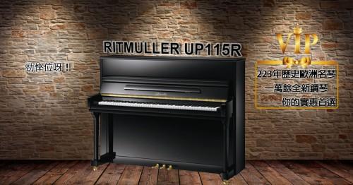 Ritmuller UP115R 評測與介紹